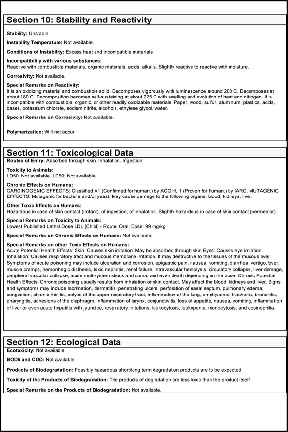 MSDS Page 4